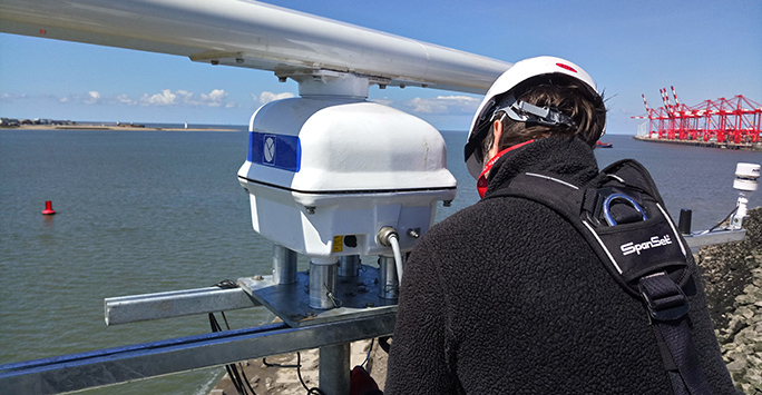 Application of radar for sustainable coastal resource use