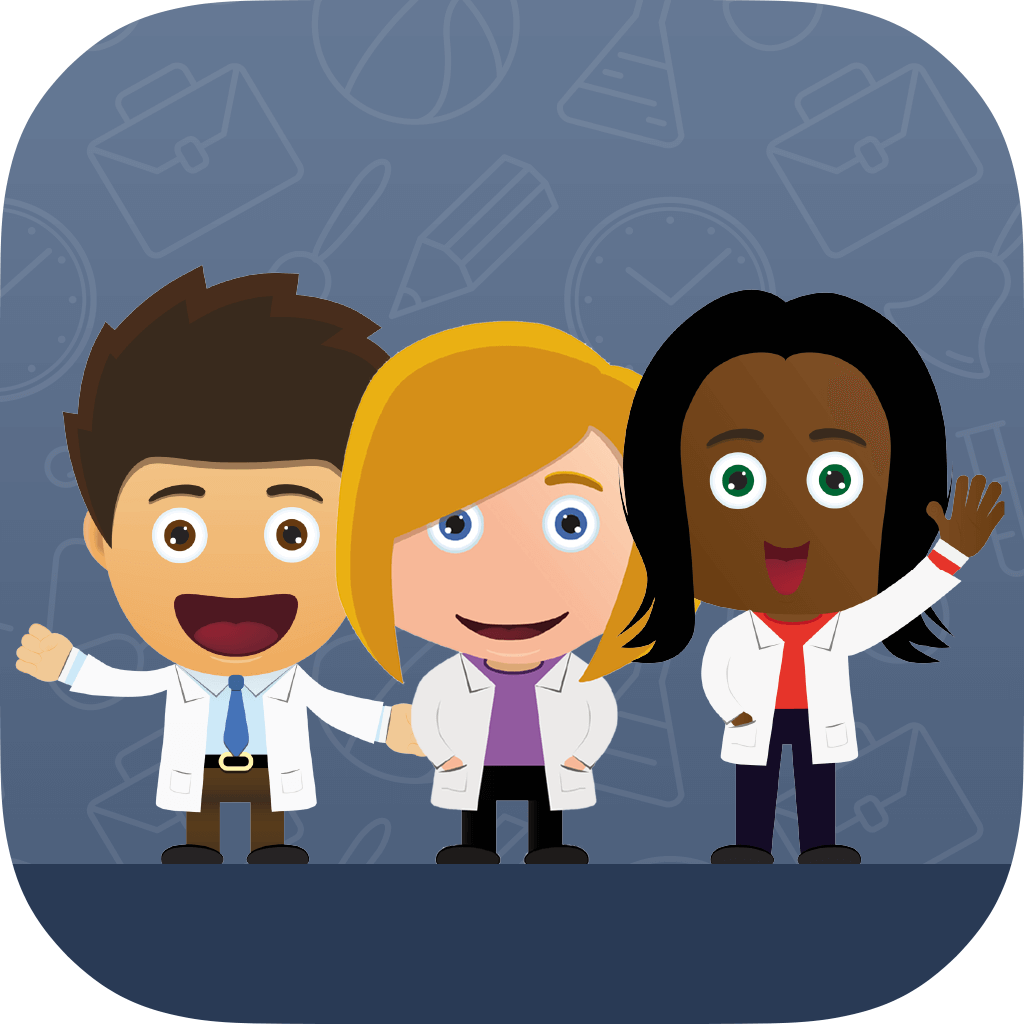 Meet the Scientists - App Icon
