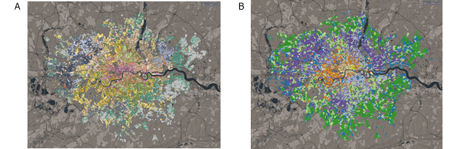 A collaboration with the Greater London Authority to describe the geodemographics of residential and workplace geography respectively