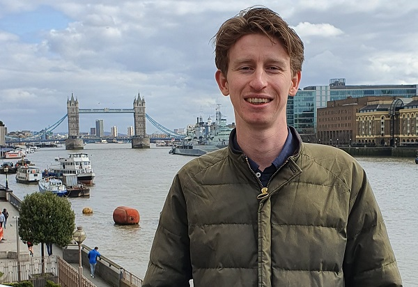 Archaeology BSc and MSc graduate Edward Clark