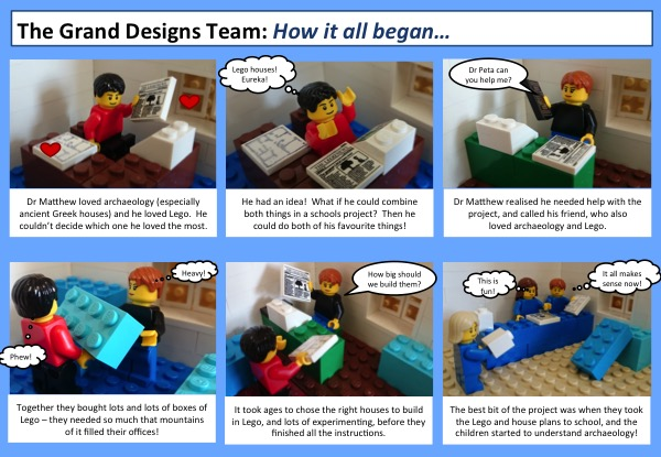 Lego comic strip