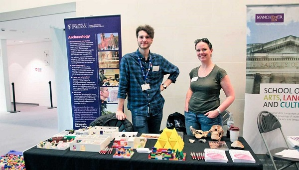 University Archaeology Day and London Anthropology Day 2018 - stall