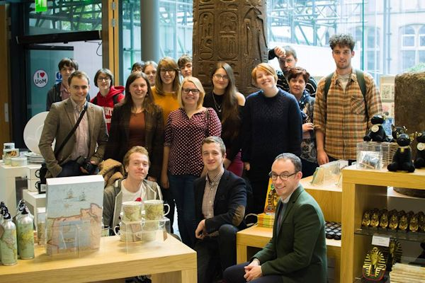 Students at Manchester Museum