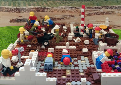 Lego archaeologists
