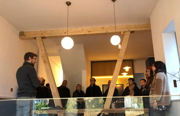 Victorian House Interior, MSc and PhD students visited Britain's greenest Victorian house