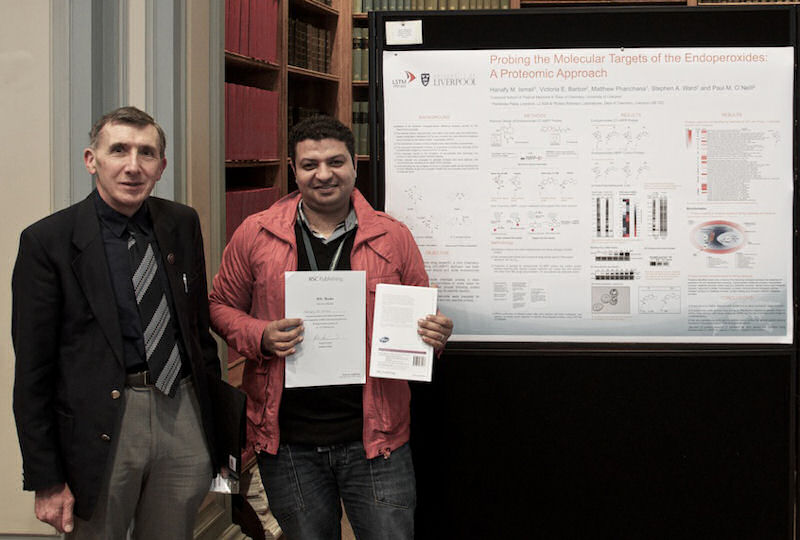Hanafy Ismail wins best poster at RSC BMCS Meeting