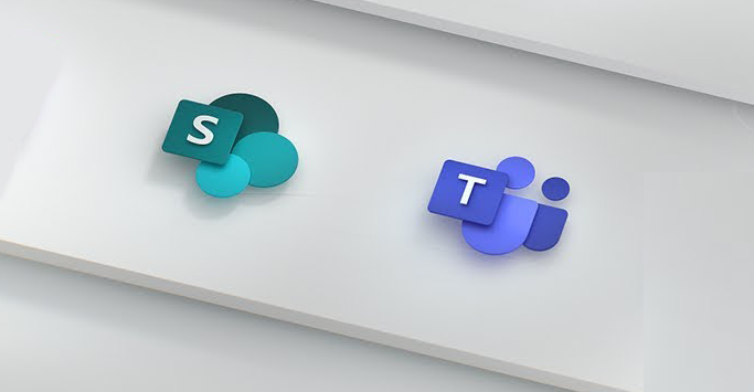 Teams and SharePoint icons
