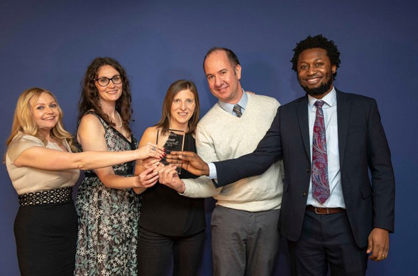 Winners of the Research Impact of the Year Award