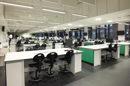 Environmental Sciences Lab - Central Teaching Hub at the University of Liverpool