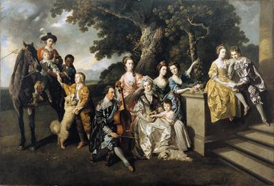 The Family of Sir William Young (c.1770) by Johan Zoffany. Oil on canvas. © The Walker Art Gallery, National Museums Liverpool