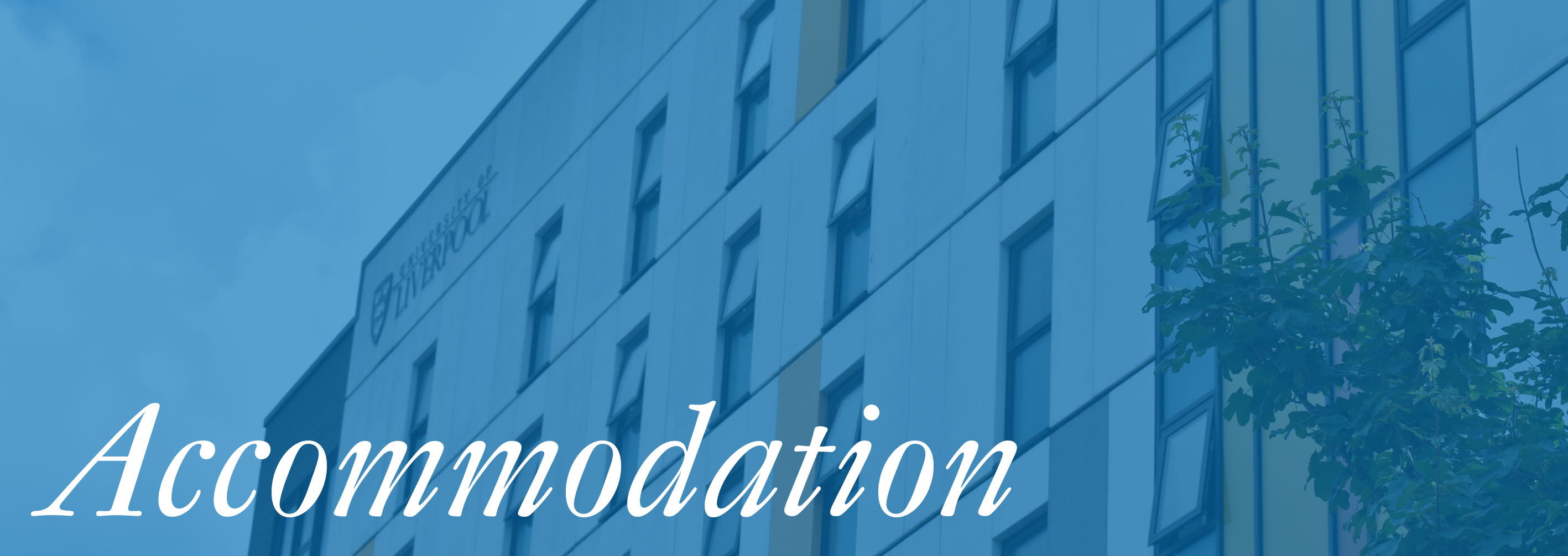 Accommodation- banner image