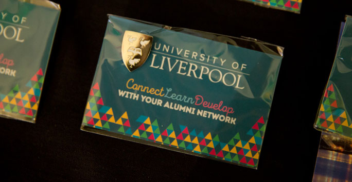 Alumni badge and card