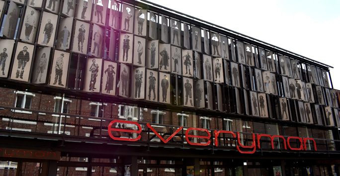 Front of Everyman Playhouse