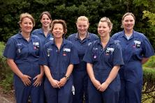 the nursing team
