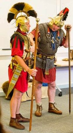 Discovering the life of a Roman soldier