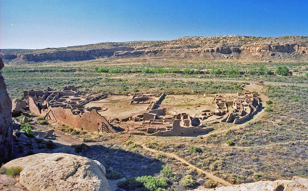 Pueblo Bonito at Chaco Canyon, New Mexico. Photo by mksfca, Creative Commons Flickr.
