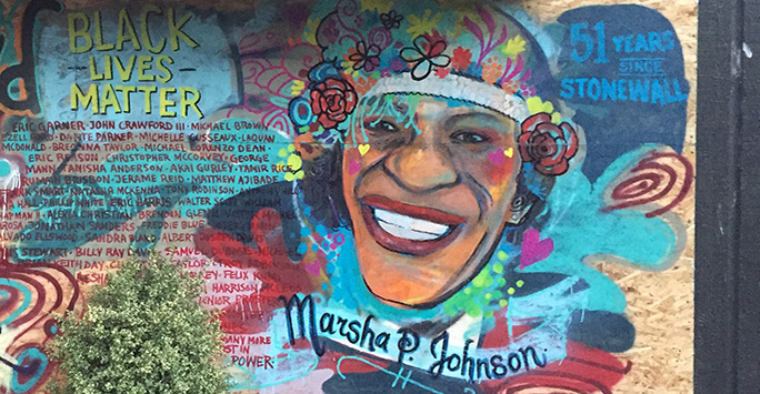 Marsha P. Johnson Memorial