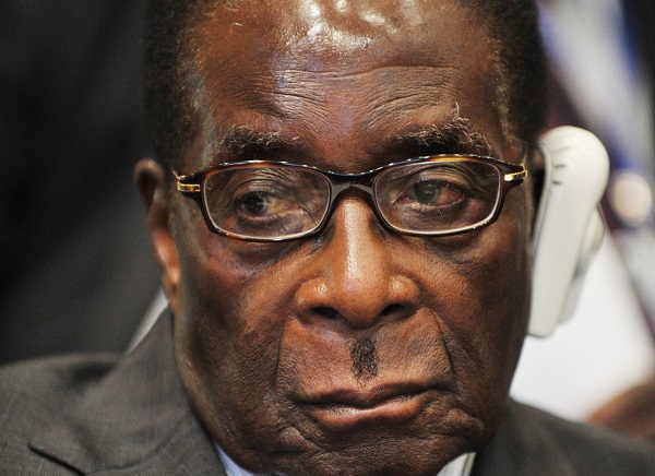 Photo of Robert Mugabe.