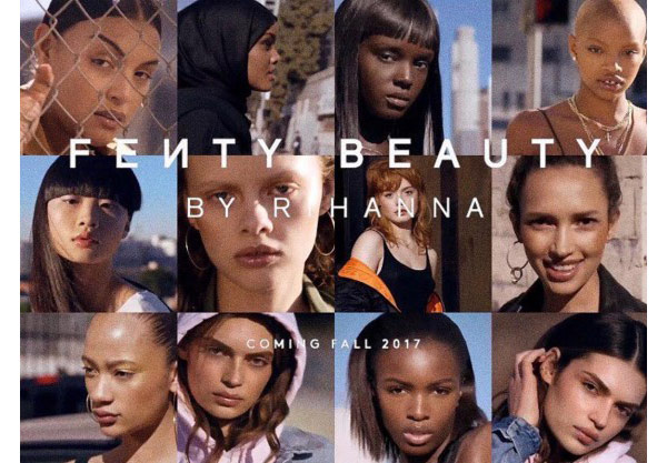 Fenty beauty campaign ad