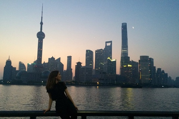 Talia at The Bund