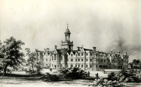 North Wales hospital drawing