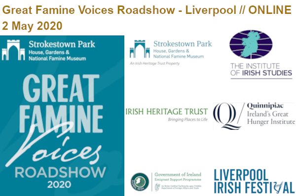 Great Famine Voices Roadshow