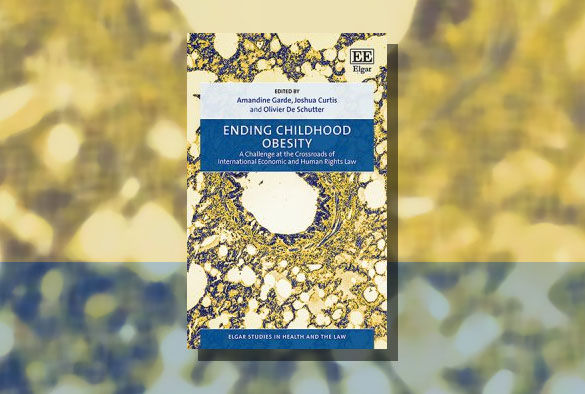 Ending Childhood Obesity book cover