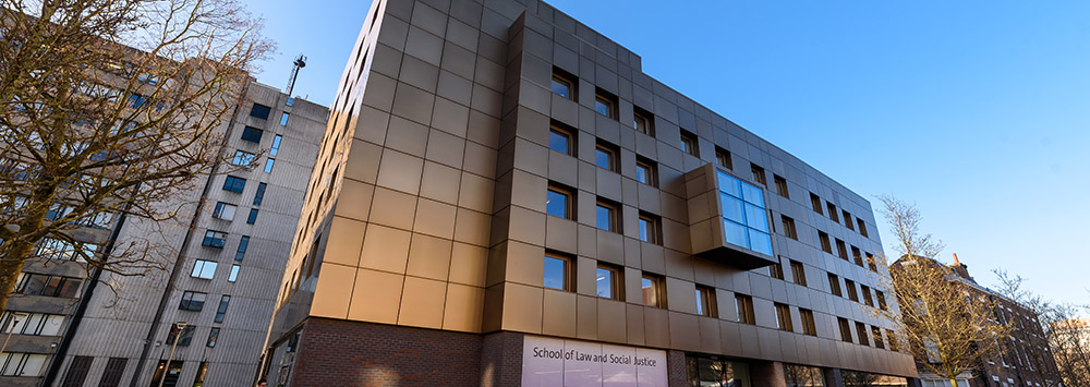 Image of School of Law and Social Justice Building