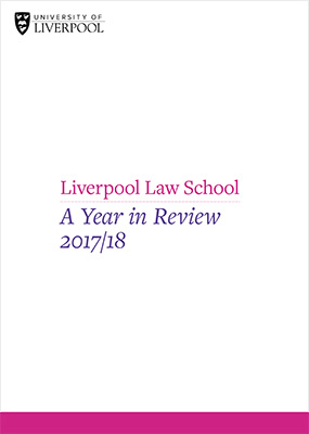 Year in Review - Liverpool Law School - University of Liverpool