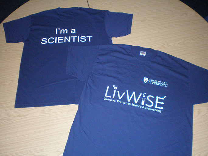 LivWiSE TShirt Scientist