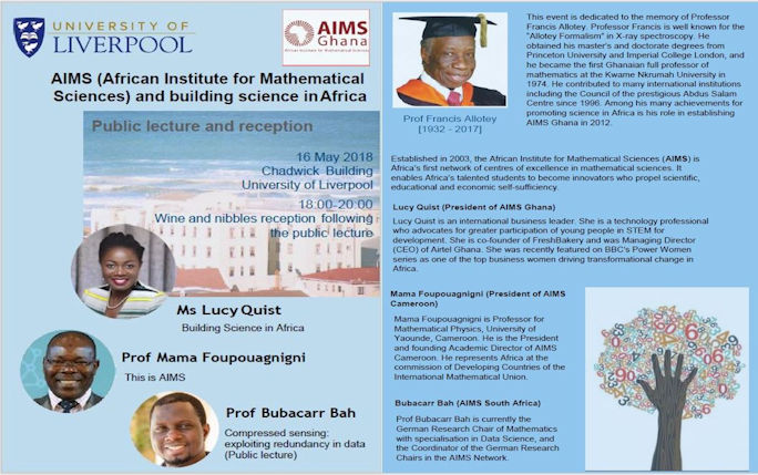 AIMS and building science in Africa