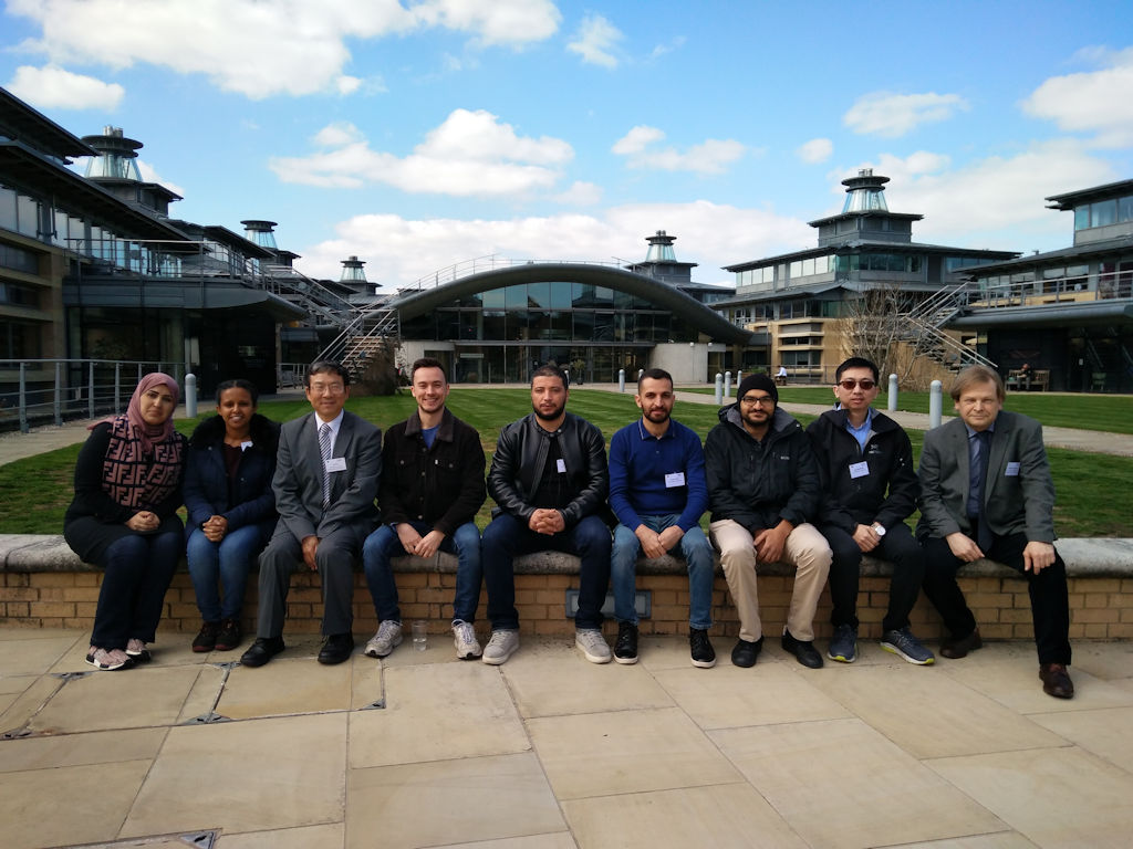 Photo of delegates from Liverpool who attended workshop in Cambridge on 10th 11th April 2019
