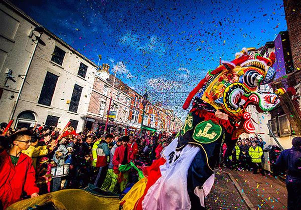 Chinese New Year celebrations in Liverpool