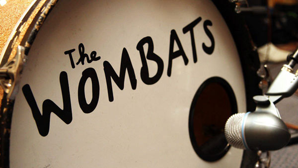 The Wombats - drums