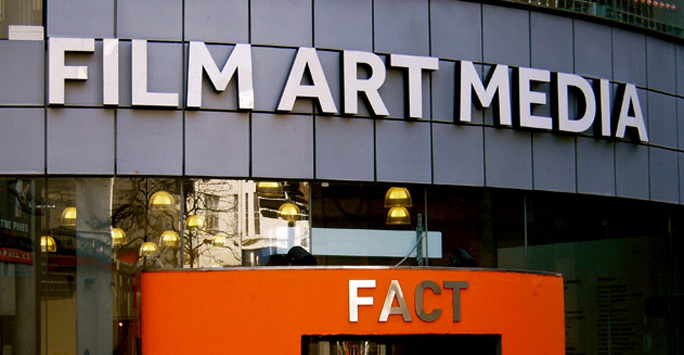 FACT cinema sign - Film Art Media