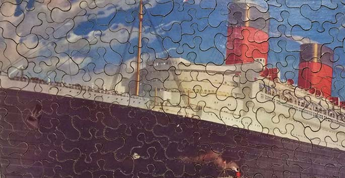 Special Collections and Archives - a jigsaw of the Queen Mary