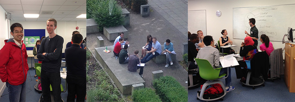 Some of the activities involved in a First Year workshop