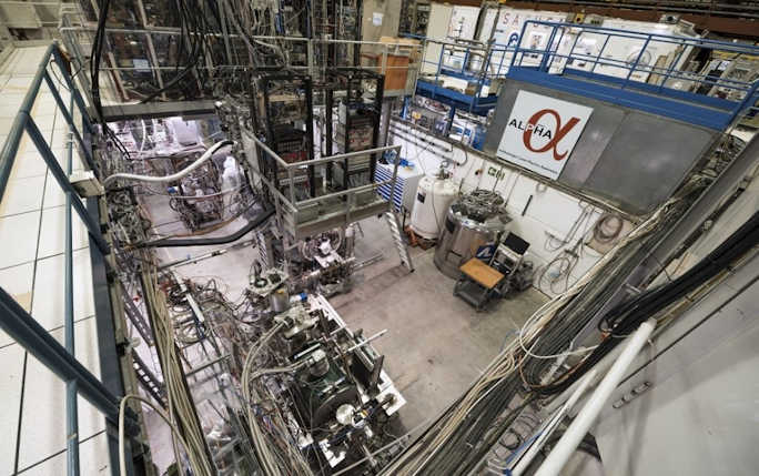 View of the ALPHA experiment (Image: CERN)
