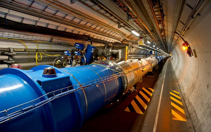 The Large Hadron Collider, image courtesy of CERN