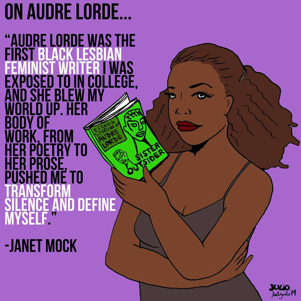 Audre Lorde illustration