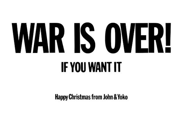 War is over, if you want it - poster