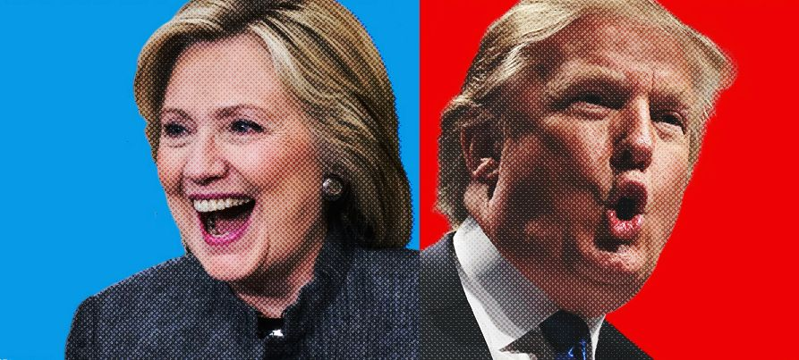 Hilary Clinton and Donald Trump