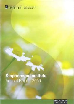 Stephenson Institute for Renewable Energy Annual Report 2016
