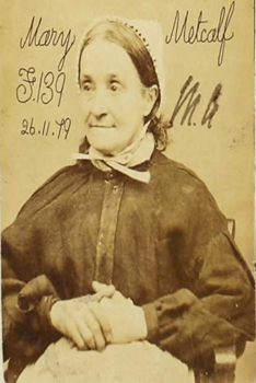 Convicts Exhibition: Mary Metcalf
