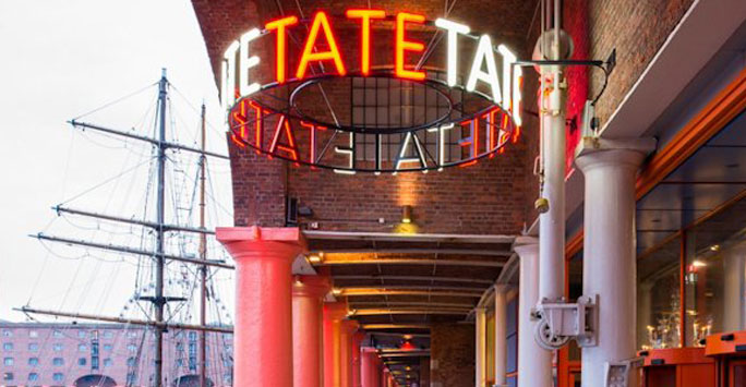 Tate Liverpool Neon Sign