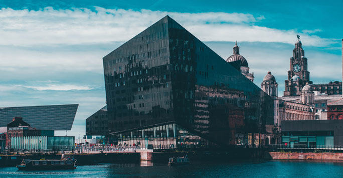 Liverpool Waterfront buildings