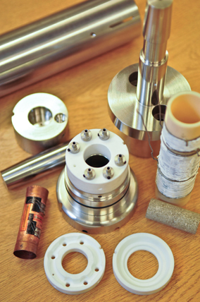 Components of the High Temperature Sample Assembly