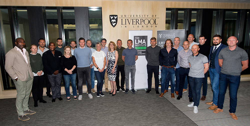 Group picture of 2018 LMA students