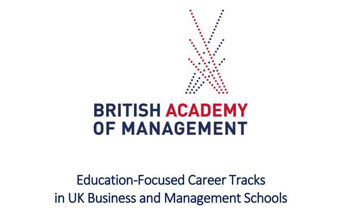 Education-focused career tracks in UK Business and Management Schools