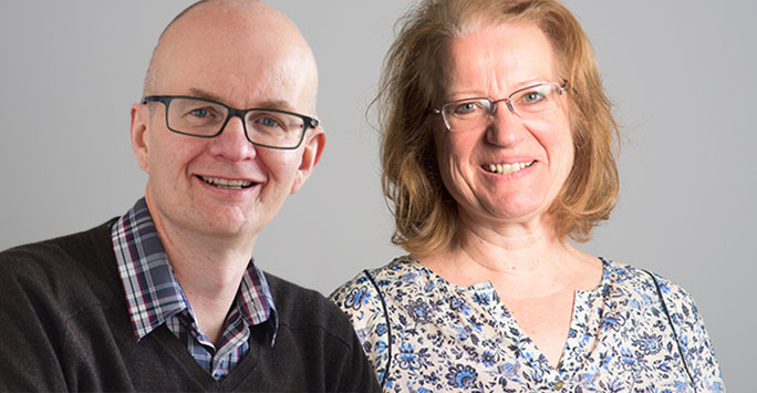 Dr Paul Ellwood and Dr Clare Rigg